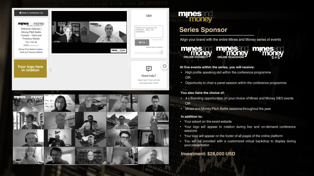 Mines and Money Sponsorship Opportunities